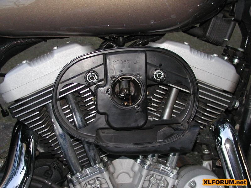 Stock air cleaner box modifications - The Sportster and Buell ...