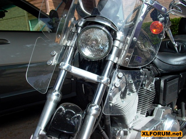 Lower Windshield Wind Deflectirs Yamaha Raider