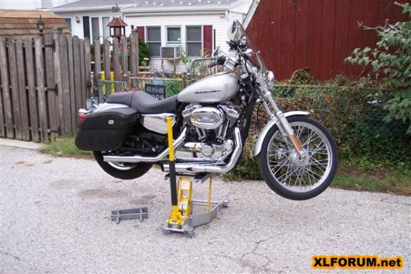any experience with a sears motorcycle jack? [archive] - the