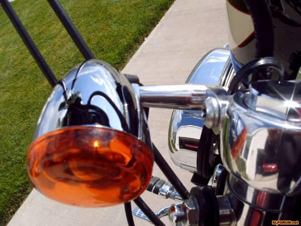 Harley Sportster Turn Signal Relocation Kit on Sportster Shocks Forum