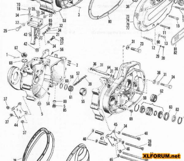 ironhead motor diagram  ironhead  free engine image for user manual download