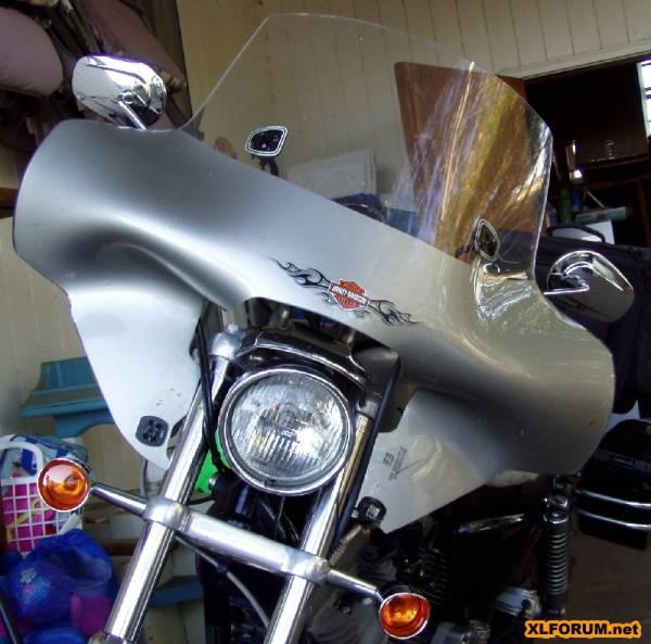 Mini Bike Windshield : Hoppe industries mini batwing back in production page