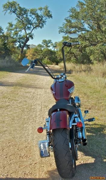 Burly Narrow Ape Hangers The Sportster And Buell