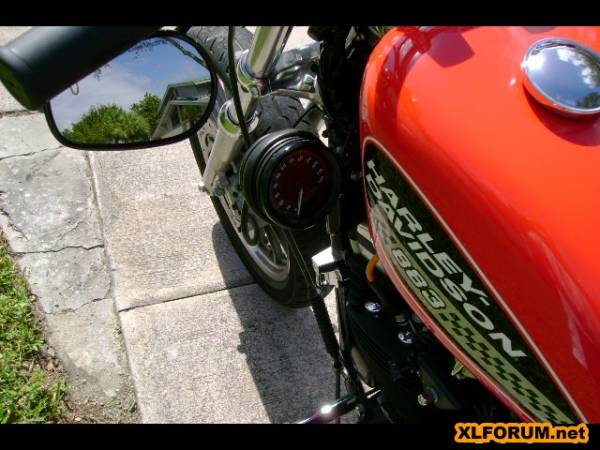 Front Fender Or Not Other Mods Pictures The Sportster